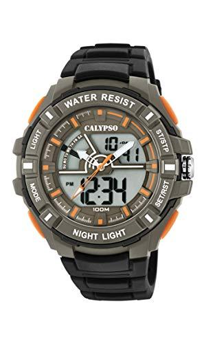 Calypso Watches Orologio Analogico-Digitale Quarzo Uomo con Cinturino in Plastica K5769/1