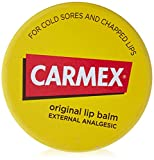 Carmex Classic Lip Balm Medicated 0.25 oz (Packs of 2)