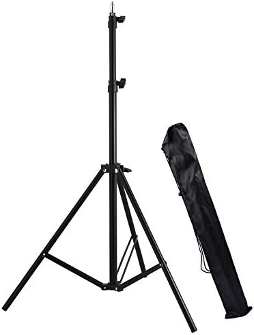 Ruittos Light Stand 7 Foot Photography Tripod Stand Extendable Support for Video Light Strobe product image