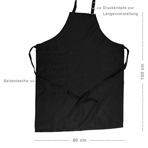 """Schürze """"Mr. Good Looking is Cooking"""" für Grill und Küche - 3"""