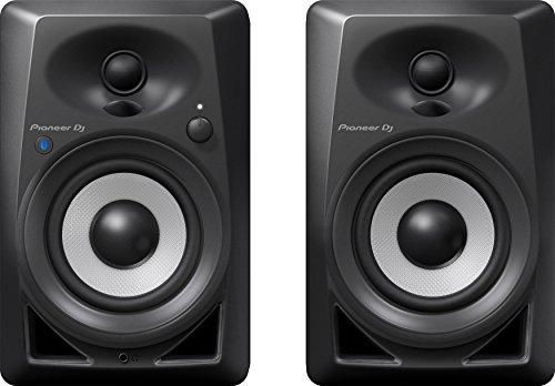 Caixa Acústica Bookshelf com Bluetooth, Pioneer Dj, DM-40BT