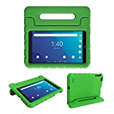 Bolete Walmart Onn 8 Inch Tablet Case for Model ONA19TB002(2019 Release), Surf Onn Tablet Case 8 Inch for Kids with Handle Stand EVA Foam Shock Proof Protector Light Weight Washable Cover - Green