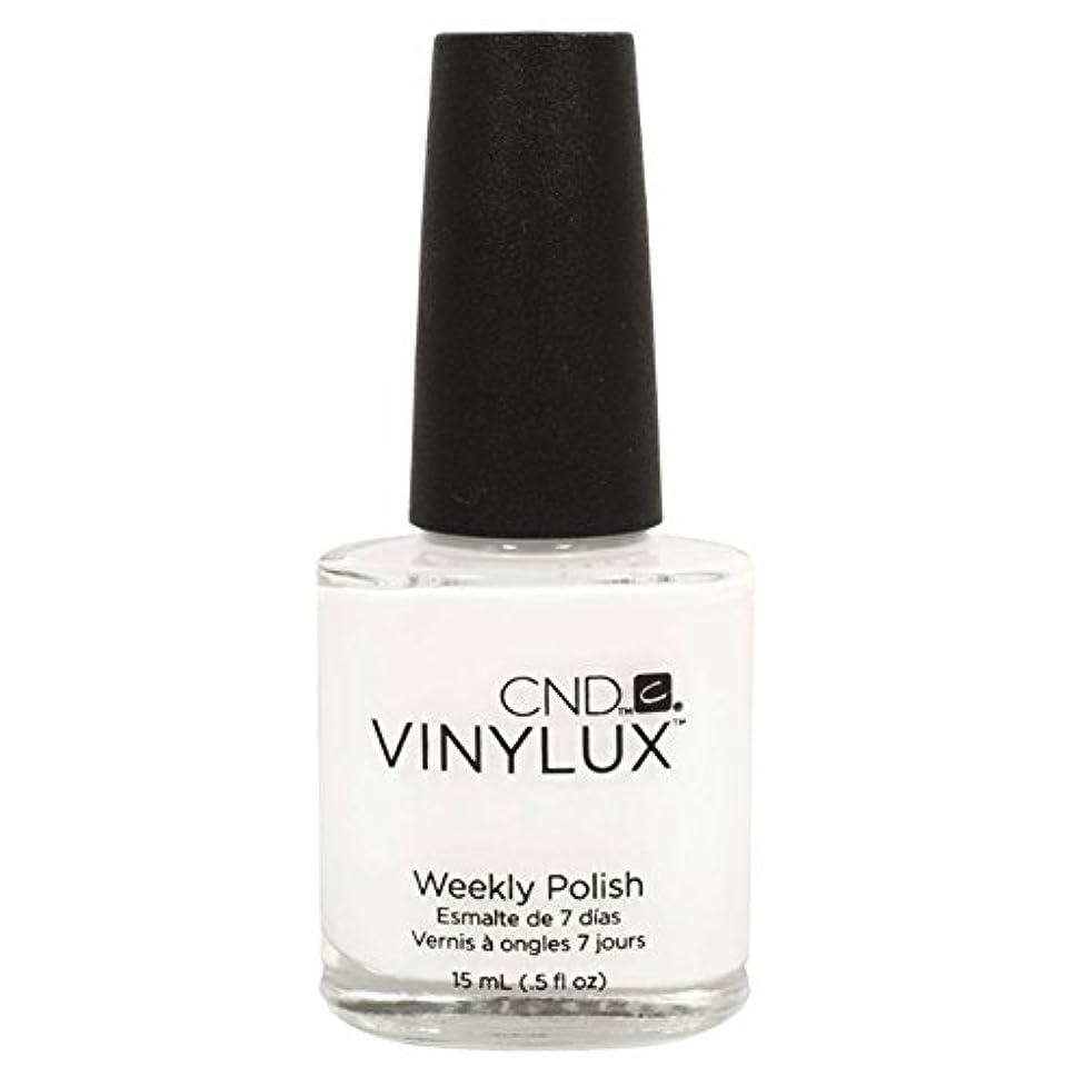 別れる魅惑的なグラスCND Vinylux Manicure Lacquer _ Cream Puff  #108 _0.5oz