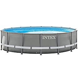 Intex 28924GH Frame Pool Ultra Rondo, Ø 488 x 132 cm