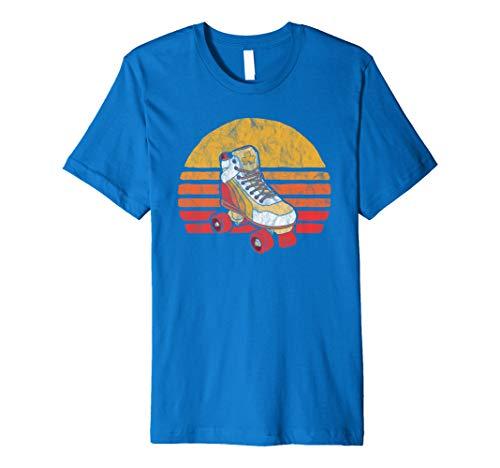 Vintage Distressed Roller Skate Sun Classic Retro Premium T-Shirt