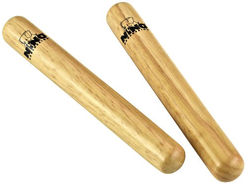 Meinl NINO502 Wood Claves, Small