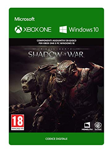 Middle-earth: Shadow of War - Outlaw Tribe Nemesis Expansion | Xbox One/Windows 10 PC - Codice download
