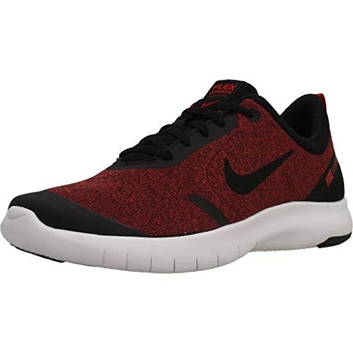 Nike Boy's Flex Experience RN 8 Running Shoe Black/University Red/White Size 4 M US