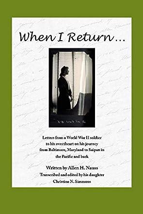 When I Return....