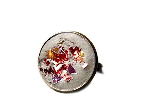 Ladyville Beton Ring - Vulkan rot