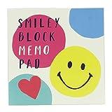 スマイリー[メモ帳]ブロックメモ/Colorful Smile Smiley Face