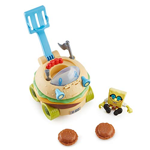 Fisher-Price Imaginext Spongebob Squarepants Krabby Patty Wagon [Amazon Exclusive]