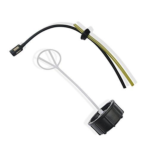 JRL Tapa del depósito de combustible para Honda GX22 GX25 GX31 GX35 piezas del motor del desbrozador