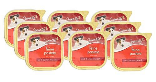 Jeden Tag Pastete, 5 Sorten Fleisch, 9er Pack (9 x 300 g)