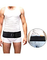 Paskyee Si Sacroiliac heupgordel voor vrouwen en mannen die ischias, bekken, onderrug en beenpijn verlichten, SI-gewricht stabiliseren, ademend antislip pilling-bestendig
