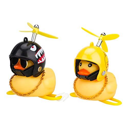 Sheia Patito de Goma (2 Paquetes), Pato de Goma para Coche, Regalo de Pato, Pato de Coche, Pato de Goma, Novedad, Pato para Coche, Pato de Goma