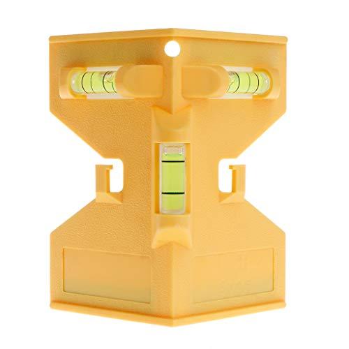 Leiouser Cilindro Magnético Nivel Tubería Sp-irit Burbuja para Instalación de Columna de Madera de Tubería