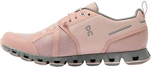 On Running Damen Cloud Waterproof Textile Synthetic Rose Lunar Trainer 37 EU