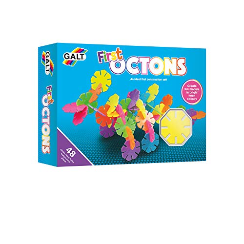 Galt Toys, First Octons, Construction Toy, Ages 3 Years Plus