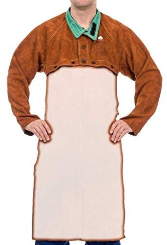 Weldas Schweißerjacke Sigma LavaBrown Gr. L für Schürze 44-7800L Jacken Schweißerjacken Leder & Textil