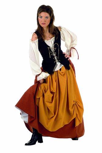Lima - Disfraz de campesina para mujer, talla S (MA516)