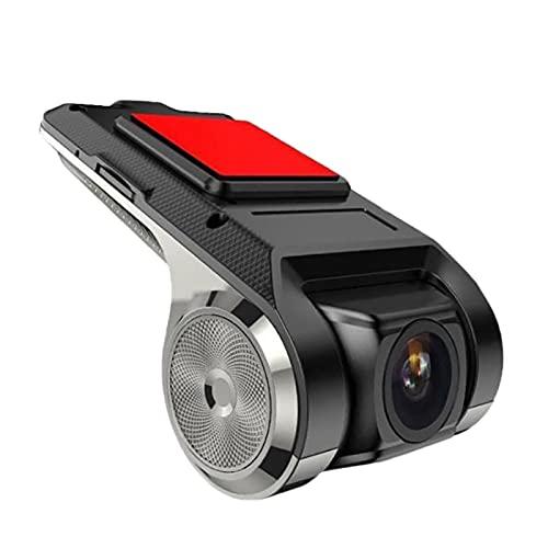 OVBBESS Full HD Grabador de ConduccióN 1080P Grabador de Video CáMara del Coche DVR ADAS Grabador del Coche Grabadora de ConduccióN VersióN Nocturna HD