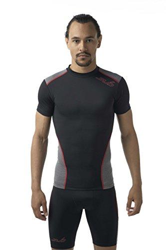 Sub Sports Mens Short Sleeve Compression Crew Neck T-Shirt...