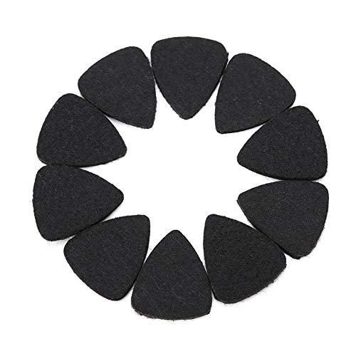 Muziekvacht Topic Ukulele gitaar pick wol vachtje Topic 3mm Reclam Wit Zwart Grijs Accessoires voor muziekinstrumenten
