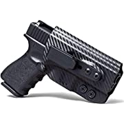 Concealment Express Tuckable IWB KYDEX Holster (Carbon Fiber Black) - Inside Waistband - Adj. Cant, Ride Height, & Posi-Click Retention - Claw Compatible - 100% US Made