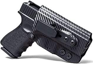 Concealment Express Tuck IWB KYDEX Holster fits S&W J Frame 442/642 | Ambidextrous | Carbon Fiber Black
