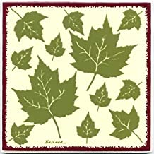 product image for TILES, WALL PLAQUES AND TRIVETS, HAND PAINTED WITH BOTANICAL THEMES - MAPLE LEAF TILE # BB-7