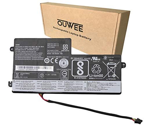 OUWEE 45N1112 Laptop Battery Compatible with Lenovo ThinkPad A275 T440 T440S T450 T450S T460 X230S X240 X240S X250 X260 X270 Series Internal 45N1113 45N1111 01AV459 45N1109 45N1110 45N1773 11.4V 24Wh