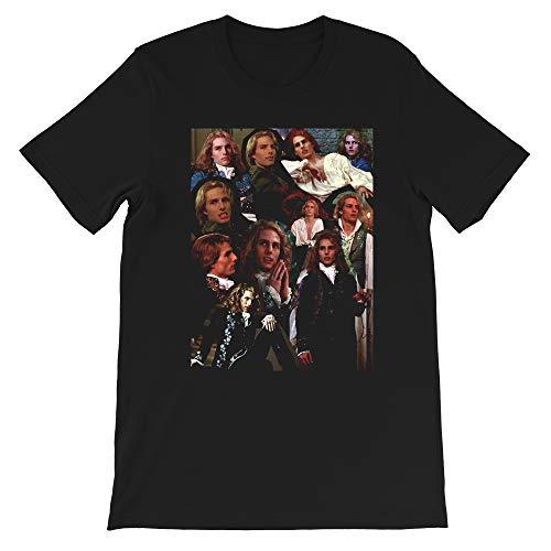 Collage Edit Tom Cruise as Lestat de Lioncourt Funny Graphic Gift Men Women Unisex T-Shirt Sweatshirt (Black-L)
