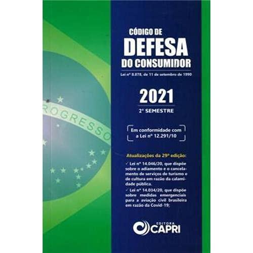 Código de Defesa do Consumidor 2021 Segundo Semestre