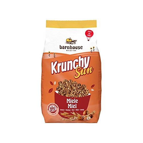 Barnhouse, Krunchy Sun Muesli met honing, 375 g, 300 g