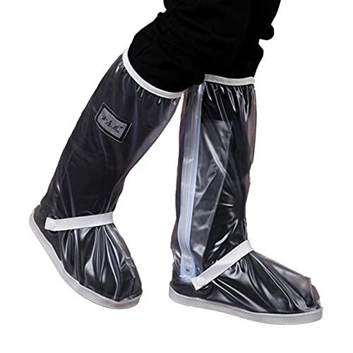 LIAWEI Funda impermeable para zapatos, reutilizable, para deportes al aire libre, ciclismo, zapatos de montaña, botas de lluvia, equipo de protección para hombres y mujeres