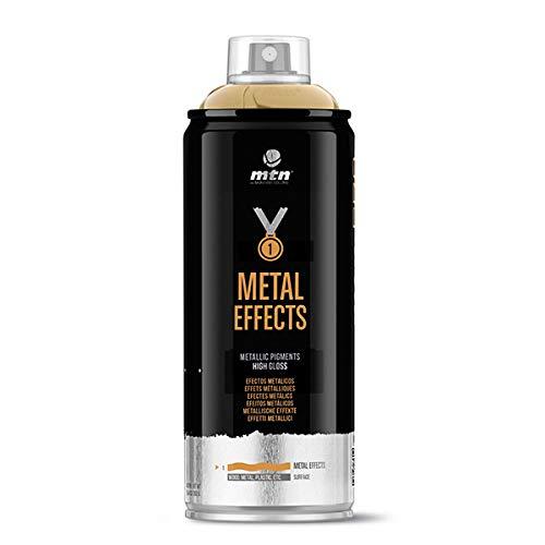 Montana Colors MTN Pro Efectos Metálicos-Oro Cromado, Spray 400ml