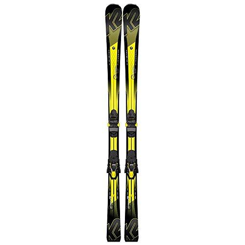K2 Charger All Mountain Rocker Ski + M3 11 TCx Light - 16/17, Groeße :168cm