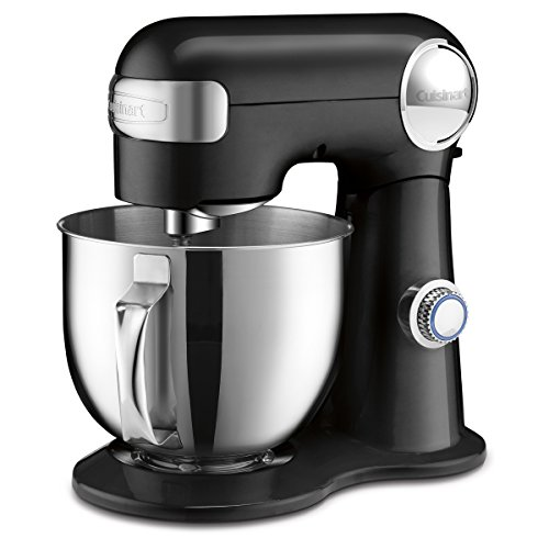 Cuisinart SM-50BKC Precision Master 5.5-QT(5.2L) Stand Mixer, Black