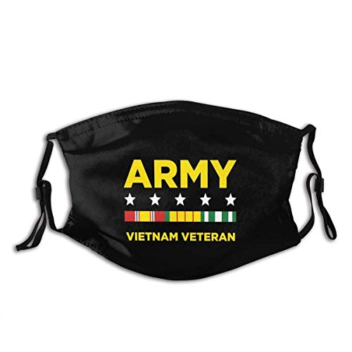 Mundschutz Army Vietnam Veterans Mouth Cover Face Cover Headscarf Outdoor Seamless Reusable Mouth Scarf