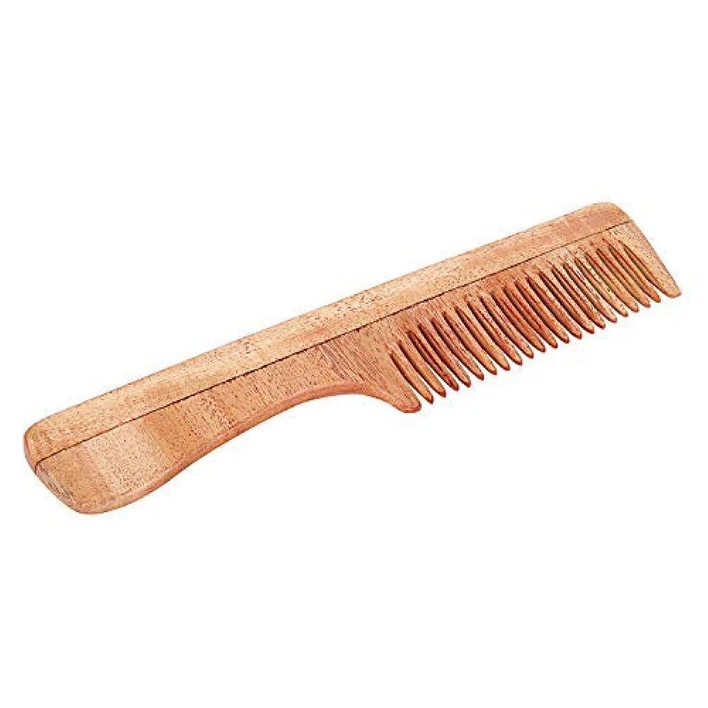 不潔反響する新年SVATV Handcrafted Neem Wood Comb with Handle N-73 (7