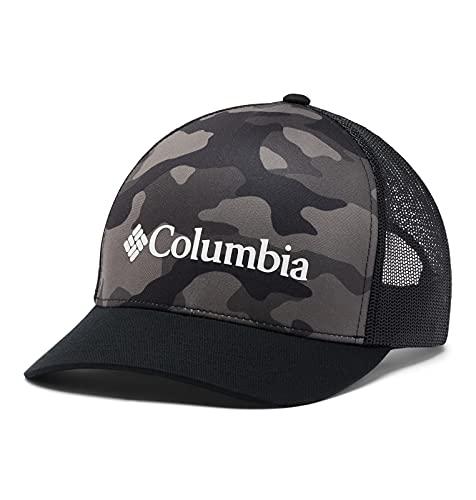 Columbia Punchbowl Trucker, Black Mod Camo Print, One Size
