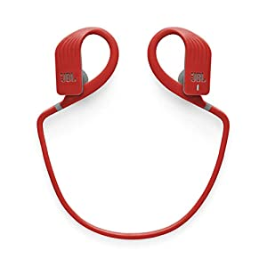 JBL Endurance Jump, Wireless in-Ear Sport Headphone with One-Button Mic/Remote - Red