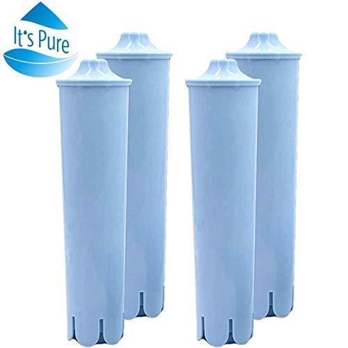 Unbekannt It 's Pure Wasserfilter Ersatz für Jura Claris Blue Clearyl Kaffeemaschinen, 4 Stück