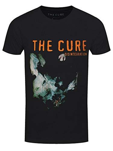 Dkcdrs The Cure T-Shirt Disintegration Men's Black
