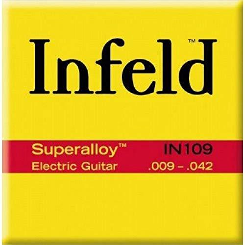 Thomastik 677070 Infeld Saiten für E-Gitarre Superalloy round wound, Satz IN109 Light .009-.042