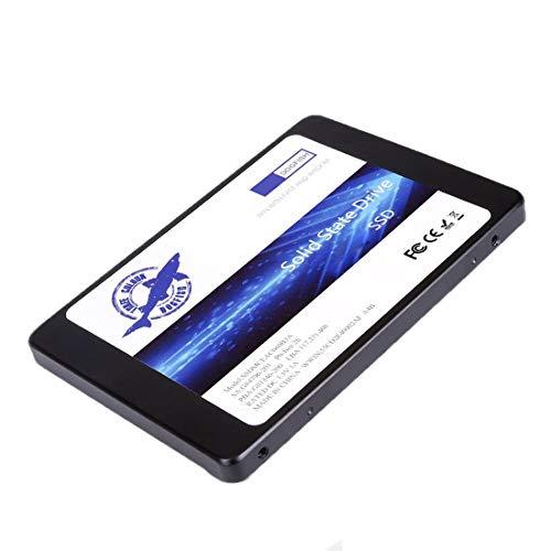 Dogfish SSD 60GB SATA3 2.5 Inch Unidad De Estado Sólido Incorporada 7MM Height PC Unità a Stato Solido Integrata Interno MLC Desktop Laptop Hard Drive Disk (60GB)
