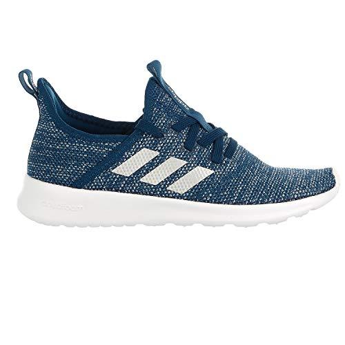 adidas Cloudfoam Pure Shoe - Women's Running Tech Steel/Silver Metallic/Grey