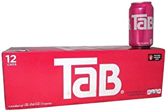Tab Soda, 12 oz Can (Pack of 24)