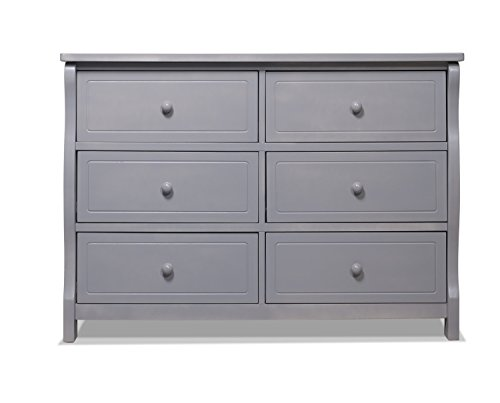 Read About Sorelle Tuscany Double Dresser, Weathered Gray